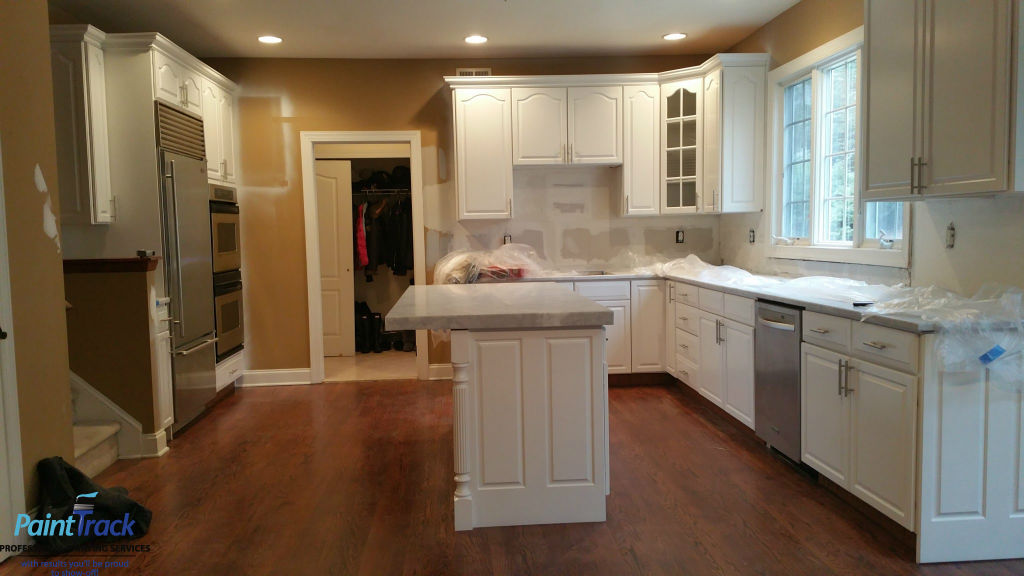 Kitchen Cabinets Renovation In Somers Ny Paint Track Painting